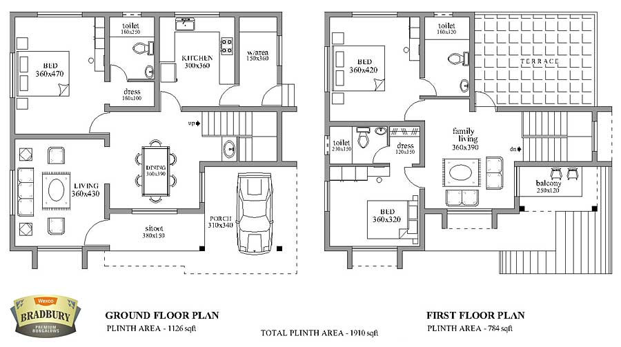 Compound House Plans http://www.wexcohomes.com/bradbury.html