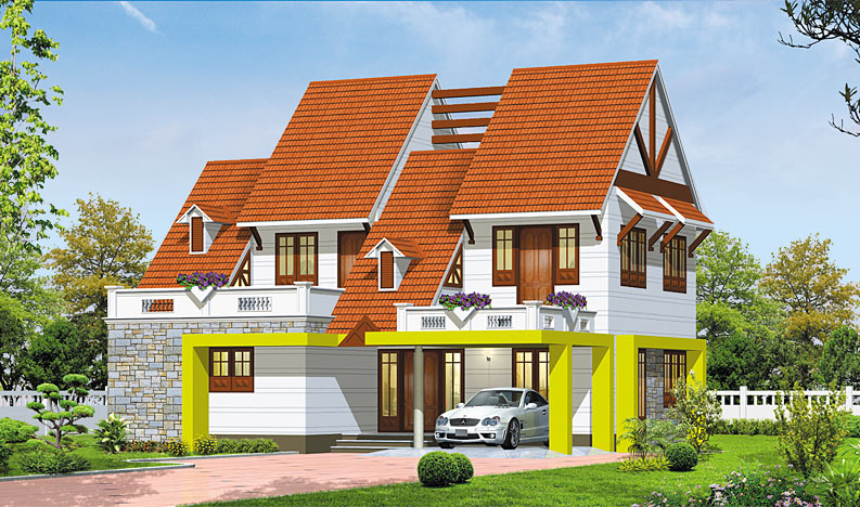 compound wall elevation
