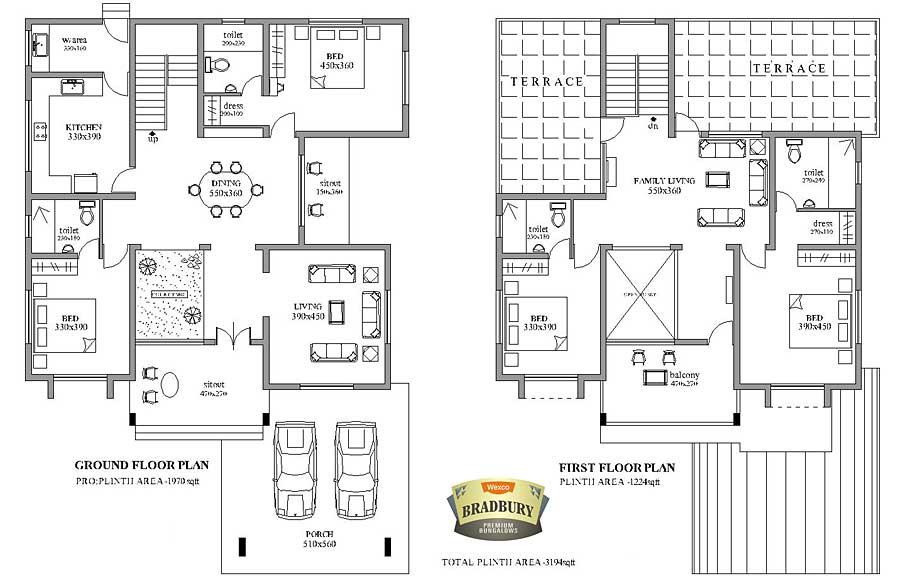 wexco homes villas apartments in kottayam bradbury. Black Bedroom Furniture Sets. Home Design Ideas